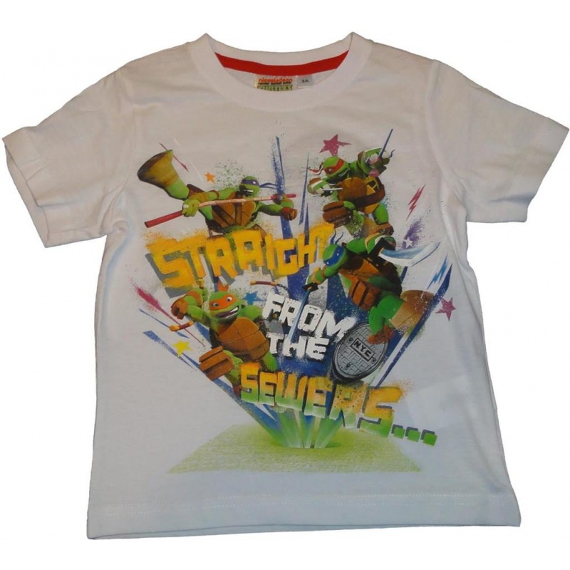 Teenage Mutant Ninja Turtles T-Shirts in Weiss 98