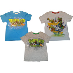 8d42728486 Teenage Mutant Ninja Turtles T-Shirts in Hellblau, Weiss oder Grau in Gr. 98,  104, 116, ...
