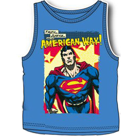 DC Comics Superman Tanktop Amercian Way